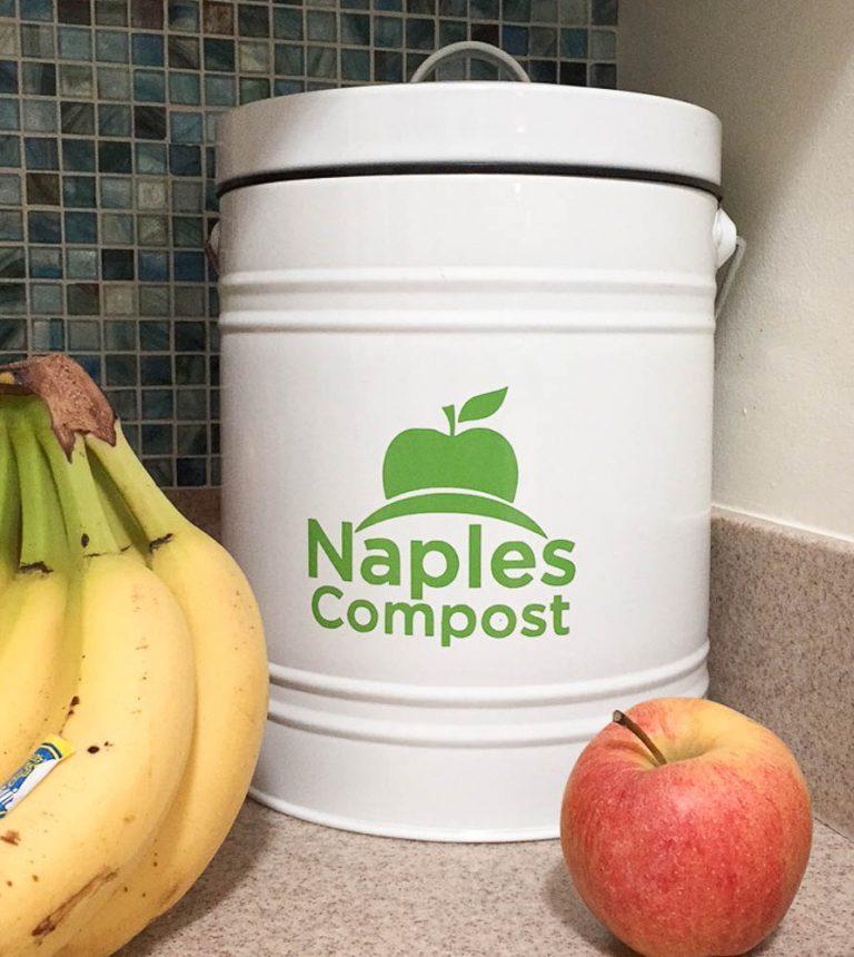 Countertop compost bin Naples Compost bin
