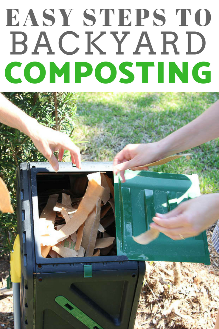 easy steps to backyard composting | how to compost | #compost #gardening