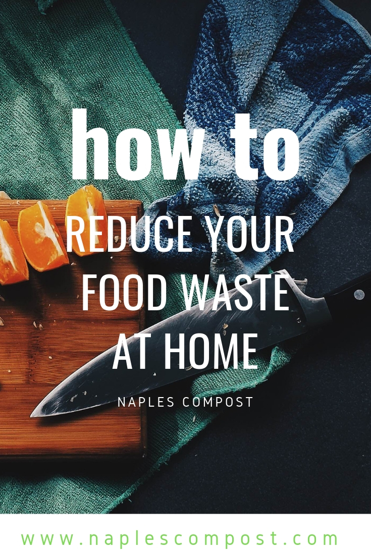 How to reduce food waste at home #compost with naples compost