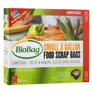 biobag compostable food scrap bag
