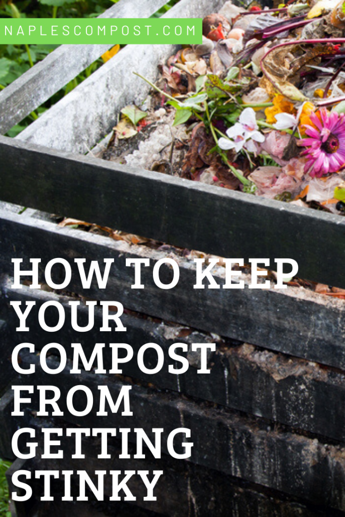 how to keep your compost from getting stinky