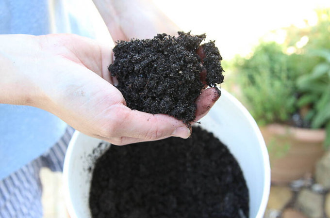 finished compost and how to use it