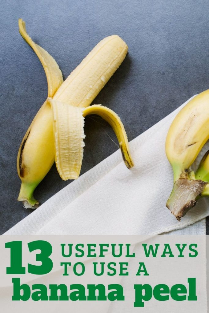 13 ways to use a banana peel