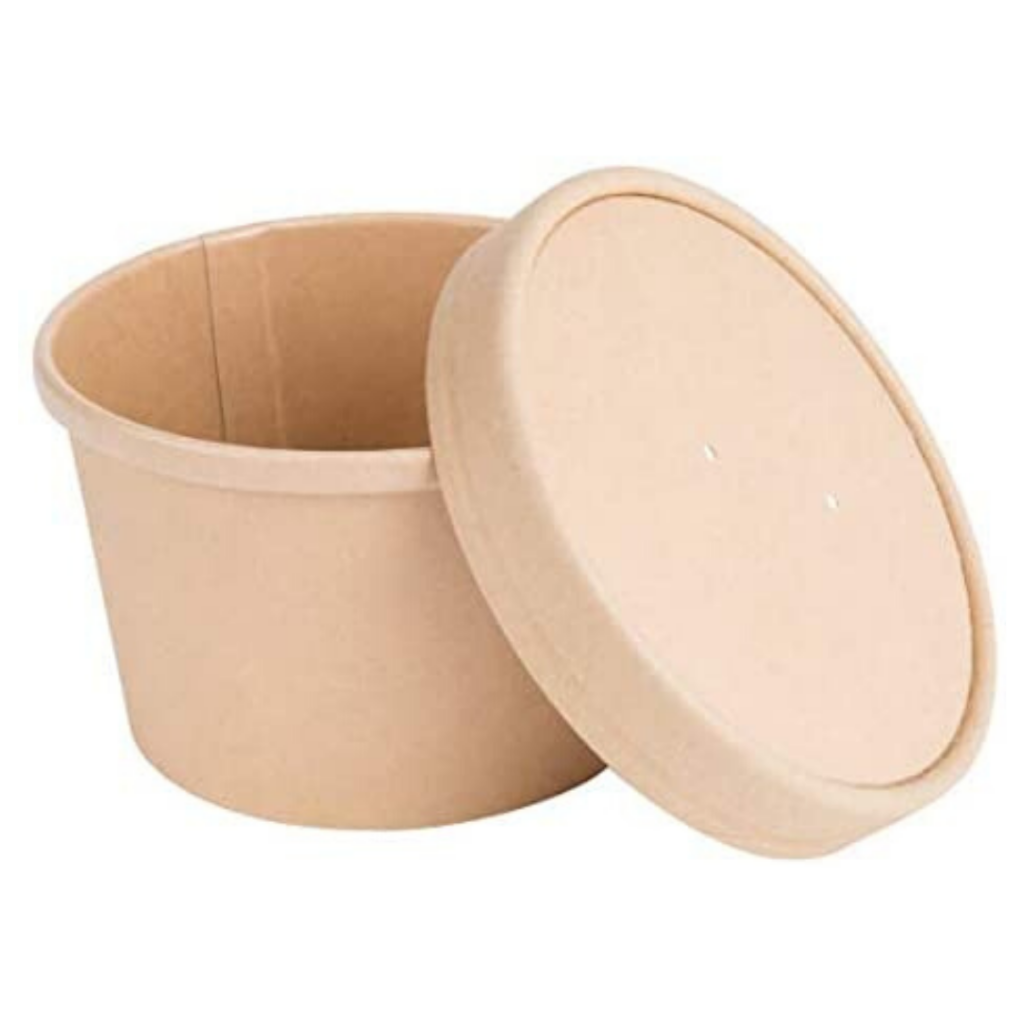 Compostable food storage cups